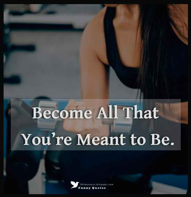 Become all that you're meant to be.