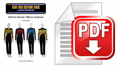TNG jumpsuit sewing tutorial PDF