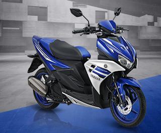 Harga motor Yamaha Aerox 125 LC