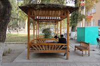 Uzbekistan, Fergana city, Kantin Chaikhana, topchan, © L. Gigout, 2012
