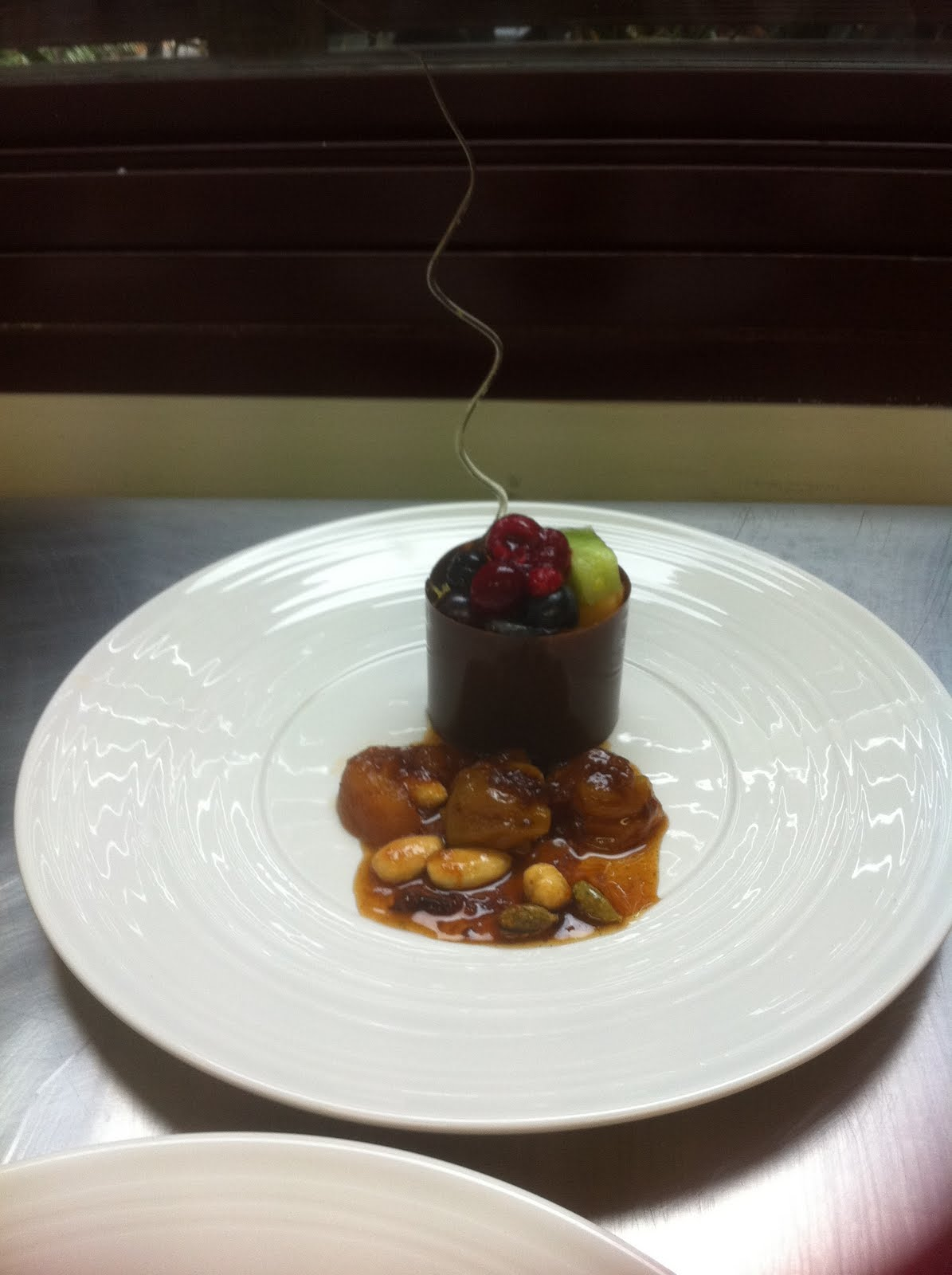 Home Engineering At Work Plating Up Dessert A New And