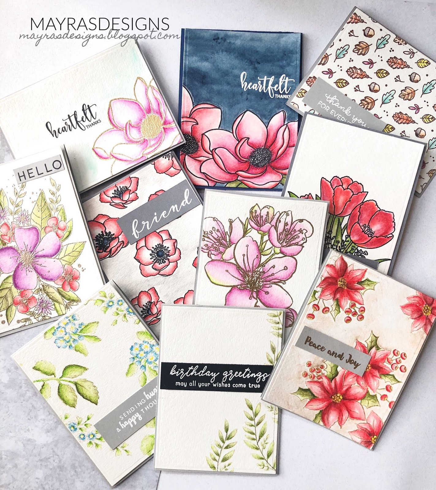 For My Cards We Were Showcasing Derwent Inktense Colour Pencils