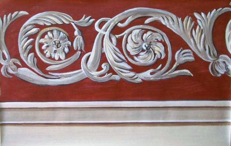 Trompe l 39 oeil murales decorazione pareti camerette bambini trompe l 39 oeil video - Decorazioni murali per interni ...