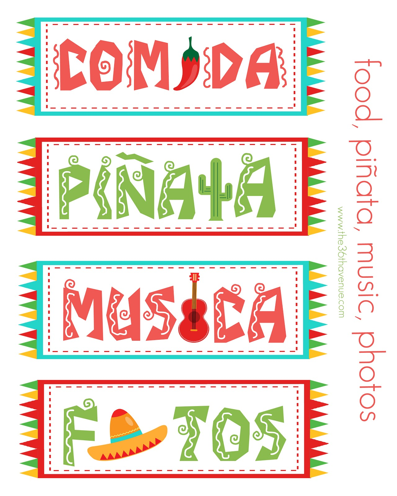Cinco De Mayo Printables Archives