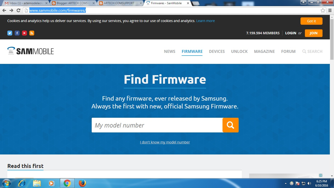 How to download sammobile firmwares with fast speed using samfirm.