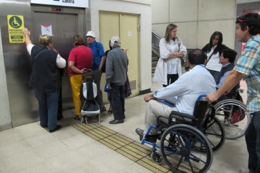 Pontos turísticos para deficientes físicos em Santiago do Chile