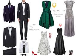 What To Wear For Black Tie Optional Wedding