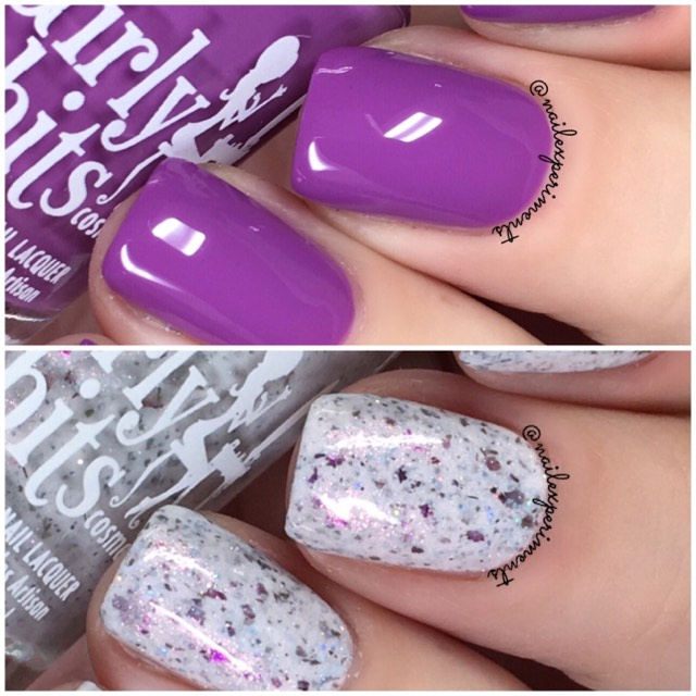 girly bits april 2018 colour of the month duo swatches - Girly Pictures To Colour In