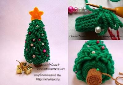 Árbol de Navidad Bucles Crochet