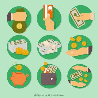 uang, gaji, emas, investasi