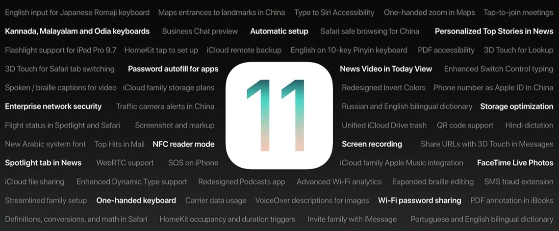 Apple'in Duyurmadığı 11 Yeni Özellik IOS 11'de