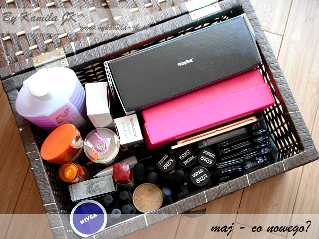 Kosmetyczne podsumowanie maja co nowego zakupy nowości