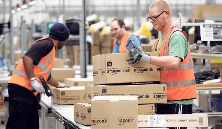 Постоянные должности от Amazon