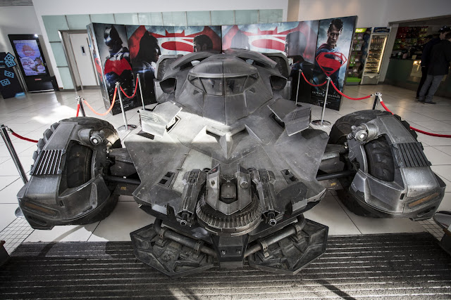 Batman v Superman: Dawn of Justice Batmobile at Odeon Leicester Square