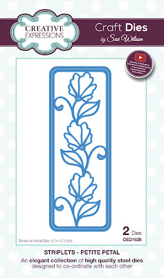Creative Expressions Striplet Collection Petite Petal Dies CED1628