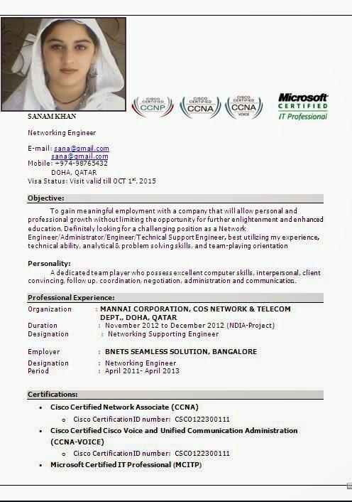 ccna resume resume cv cover letter