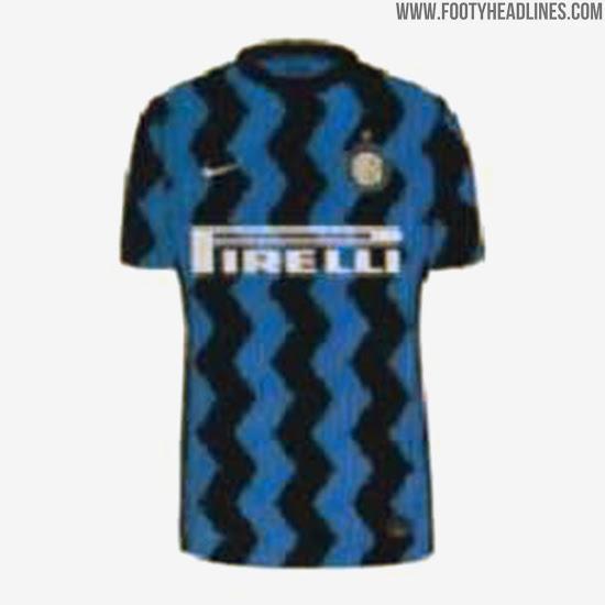 Inter 20-21 Home, Away & Third Kits Leaked - Footy Headlines