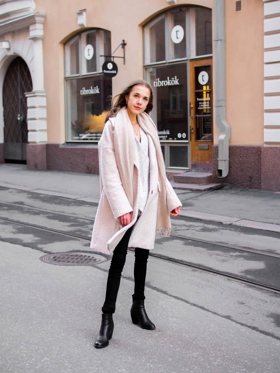 Scandinavian winter streetstyle - Skandinaavinen tyyli, muotiblogi, bloggaaja, Helsinki