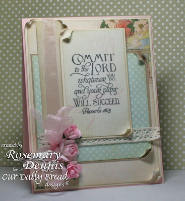 Our Daily Bread Designs, Don't Worry , Scripture Collection 5