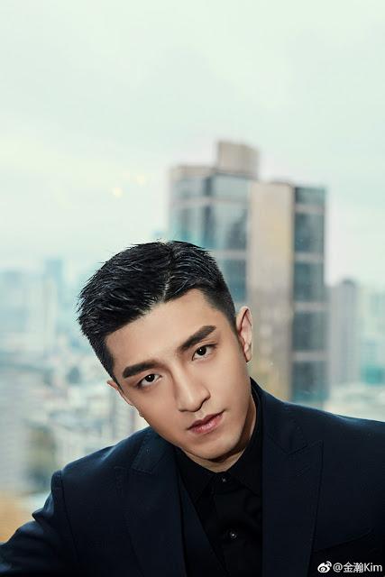 Jin Han black suit