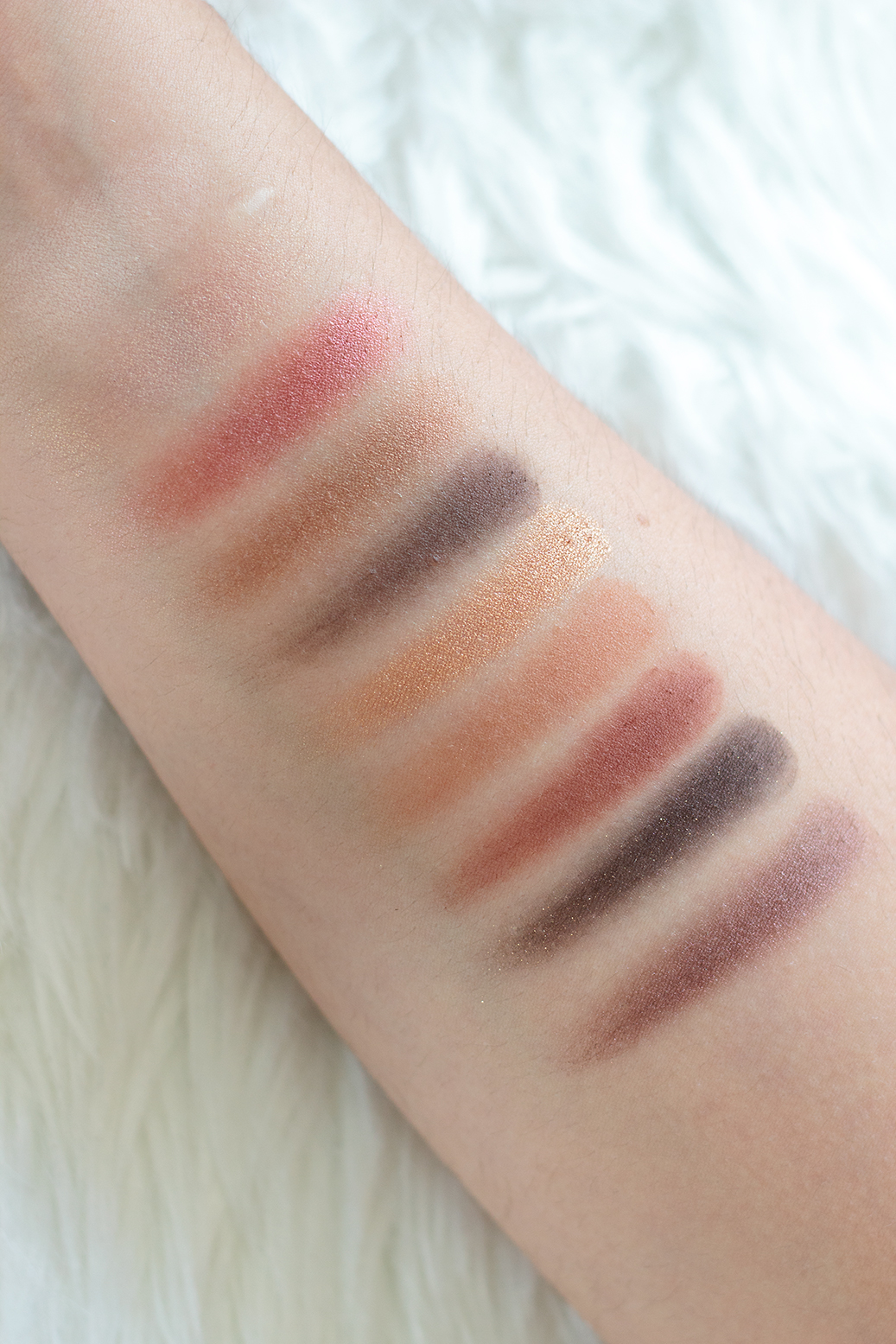 cocoa blend swatches