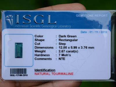 ISGL Gemstone Card