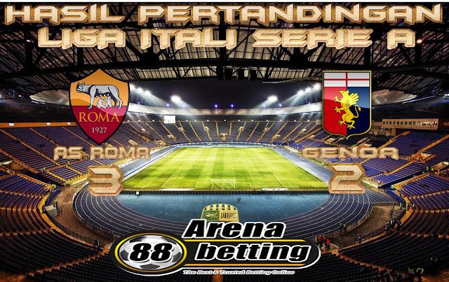Hasil Pertandingan AS Roma vs Genoa: Skor 3-2