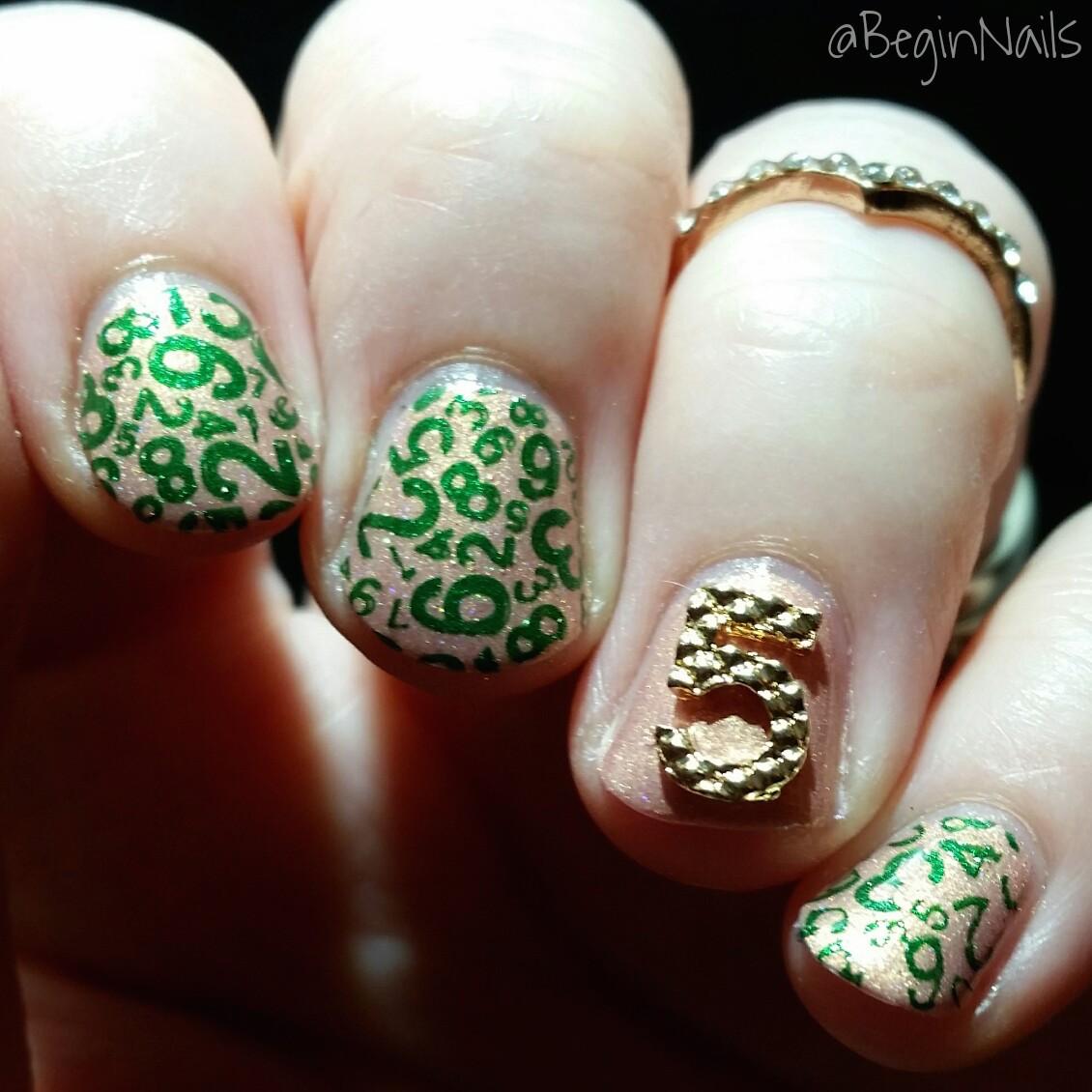 Let S Talk Nail Art: Let's Begin Nails: It Girl Nail Art IG110 Plate Manis Part 2