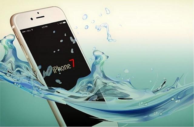 Khả năng chóng nước của iPhone 7