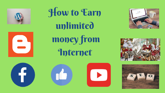 unlimited money from internet online job
