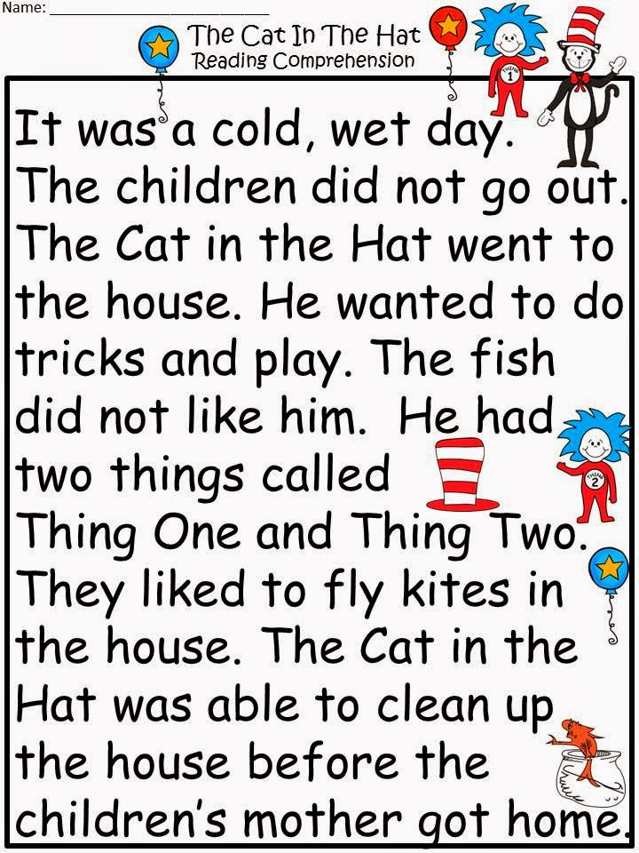 Fairy Tales And Fiction By 2: My apologies to Dr. Seuss