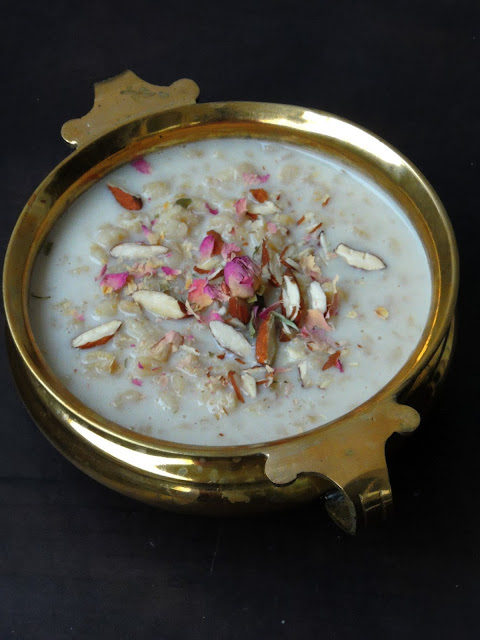 Wheat Milk Kheer, Godhumai Paal Payasam