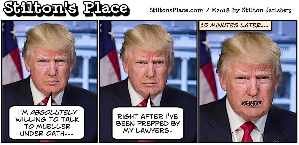 Stiltons Place Stubborn As A Mueller