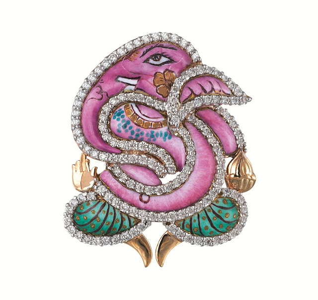 Limited Edition Ganesha Pendant Collection from Minawala