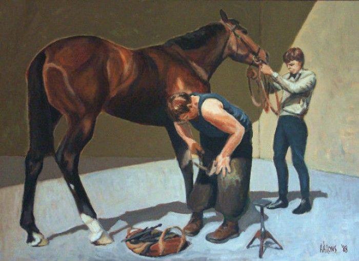 Британский художник. Andrew Aarons