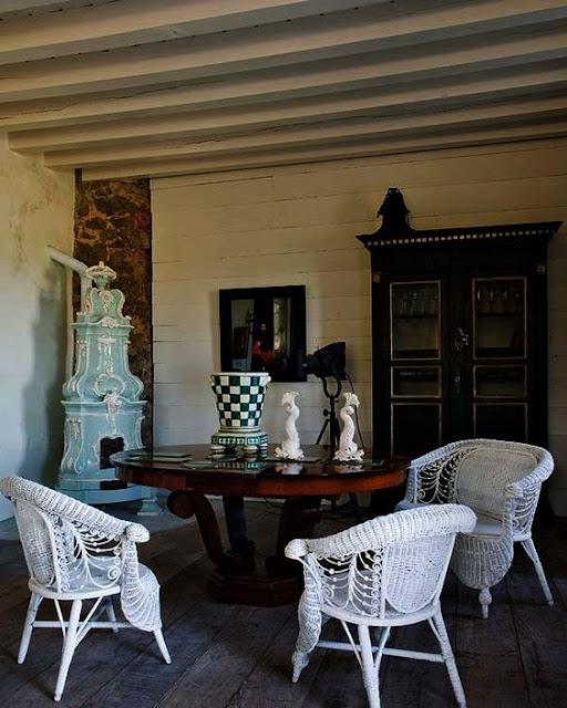 Calvin Klein Jardin Bedding: Un Blog De Decoración A Mi Manera... : Una Casa Rural Y