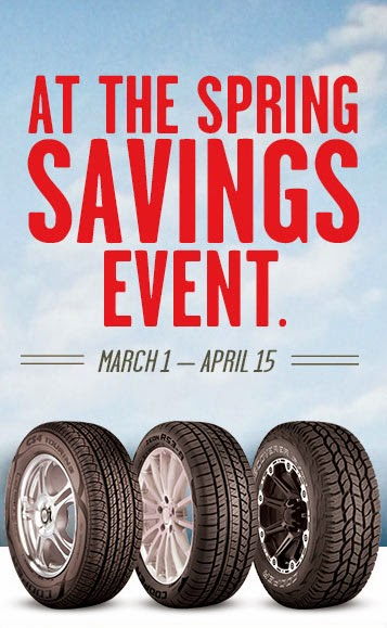 Cooper Tire Rebate and Coupons July 2018