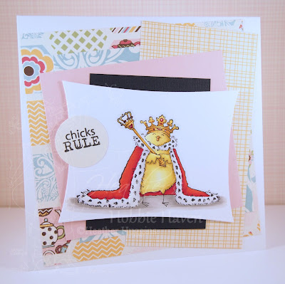 Heather's Hobbie Haven - Chicks Rule Card Kit