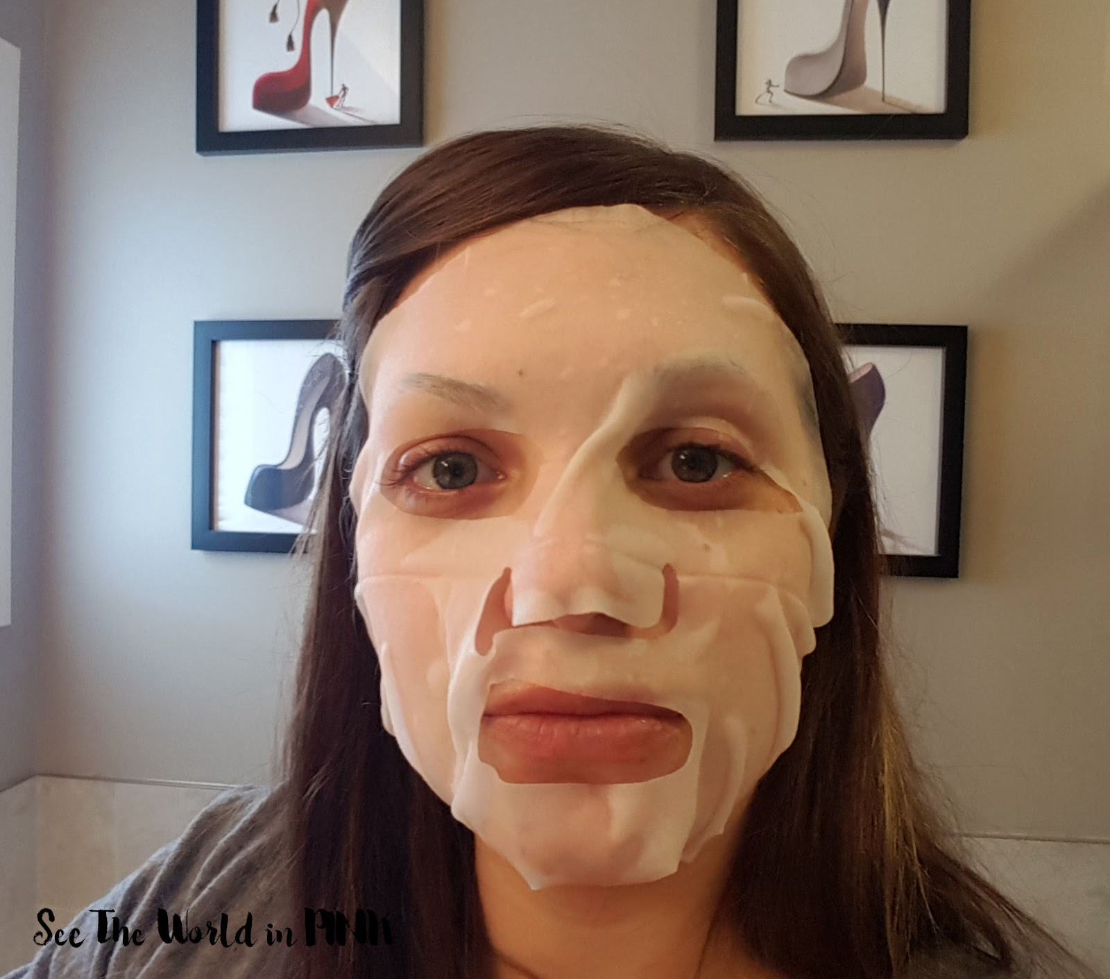 "Mask Wednesday - Holika Holika Before & After Mask Sheet ""After Night Overtime"" Review"