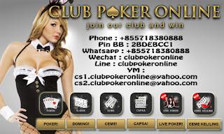 Situs biro judi kartu online terlengkap dan terpercaya Info Apa Pentingnya Main Judi Di Club Poker Online Indonesia