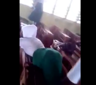Islamic students face discliplinary committe after a video of them doing the ?One Corner? dance in class goes viral
