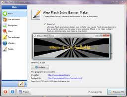 Aleo Flash Intro Banner Maker 4 Full Version
