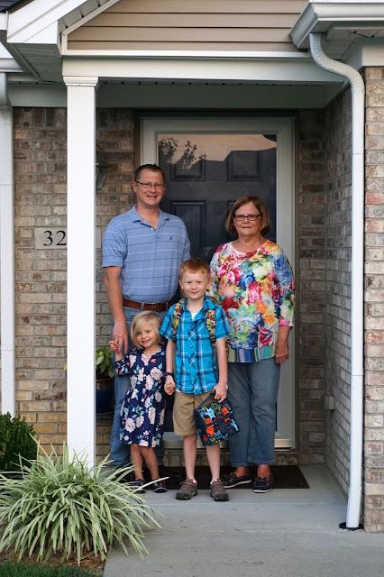 Grandma Bev and Family