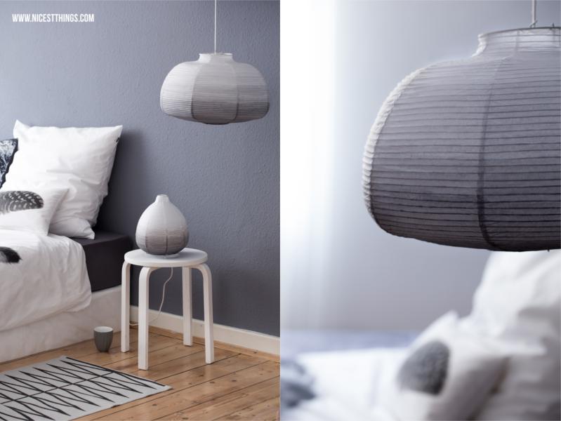 DIY Ombre Lampenschirm aus Ikea Papierlampe selber machen Ikea Hack