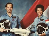 WOW !!! Astronot Perempuan Pertama di Asia, Ternyata Berasal Dari Indonesia