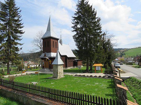 Kościół rzymskokatolicki pw. św. Józefa z 1950 roku.