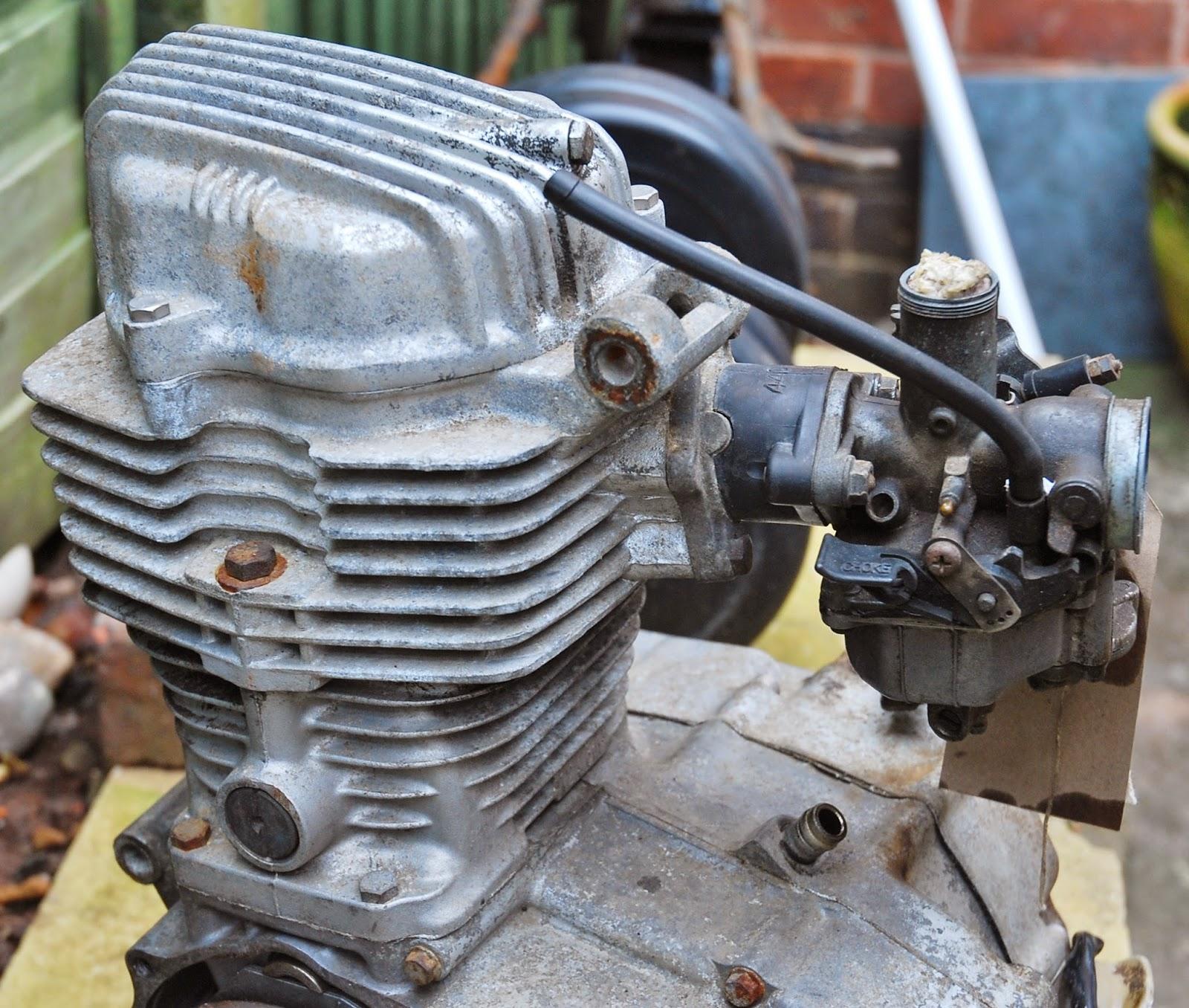 Honda Cg 125 Owner Blog Honda Cg 125 Engine Strip Down