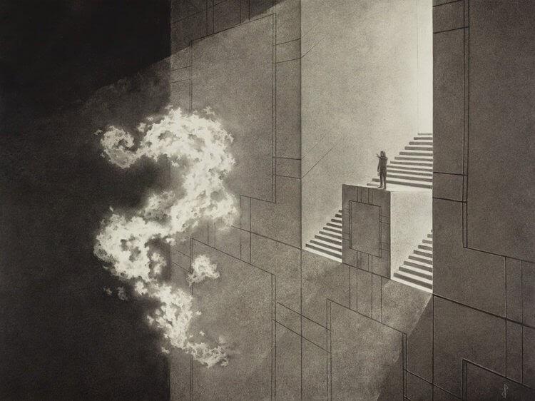 05-Manifest-Stuart-Holland-Symbolism-Hidden-in-Charcoal-Drawings-www-designstack-co