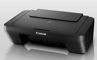 Picture Canon PIXMA E410 Printer Driver