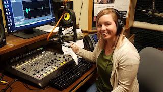 Caroline Ballard at work
